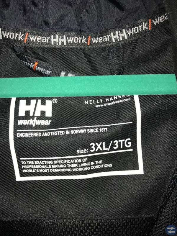 Helly Hansen work wear jacka