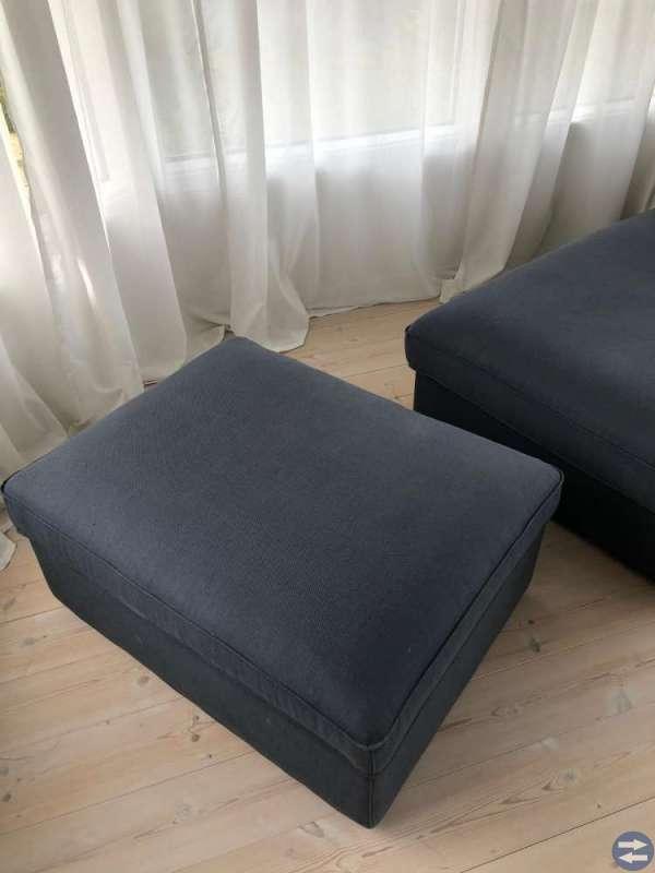 Pall med förvaring,  Kivik Ikea