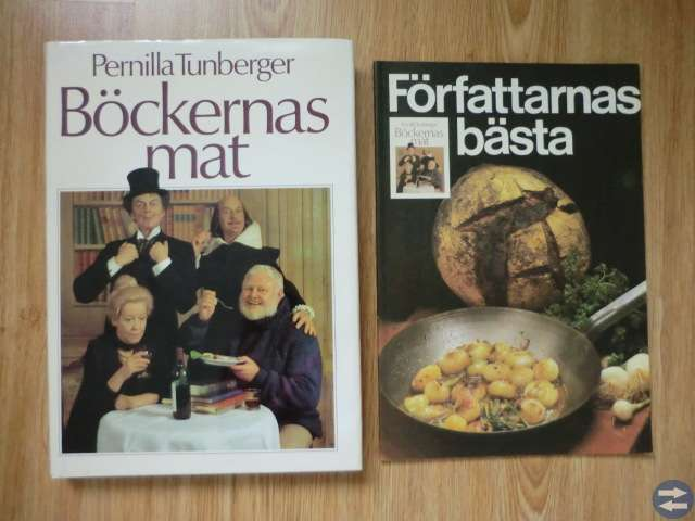 Kokböcker, båda för 20:-