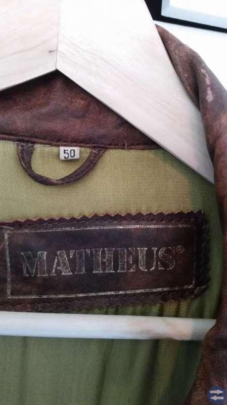 Skinnjacka Matheus stl. 50 (L), herr.