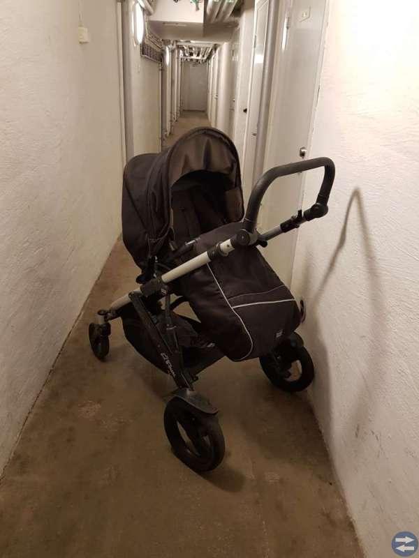 Britax b Dual barnvagn