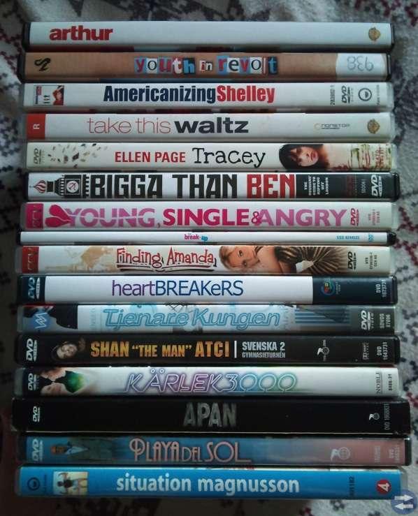 DVD  filmer från 5kr/st se alla bilder