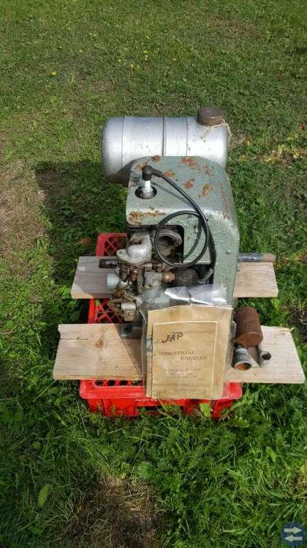 Veteran motorer 2 stycken