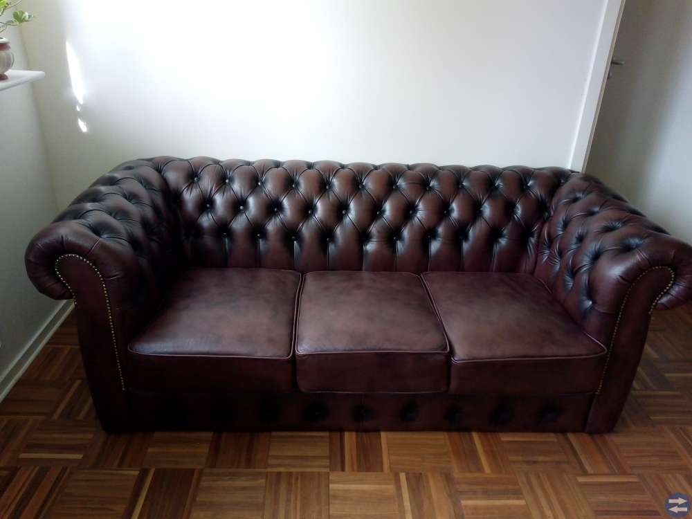 Tjusig Chesterfield Soffa