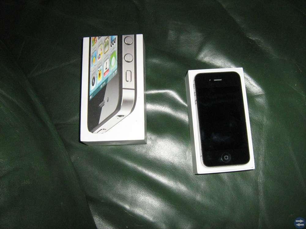 Iphone 4S Svart Olåst