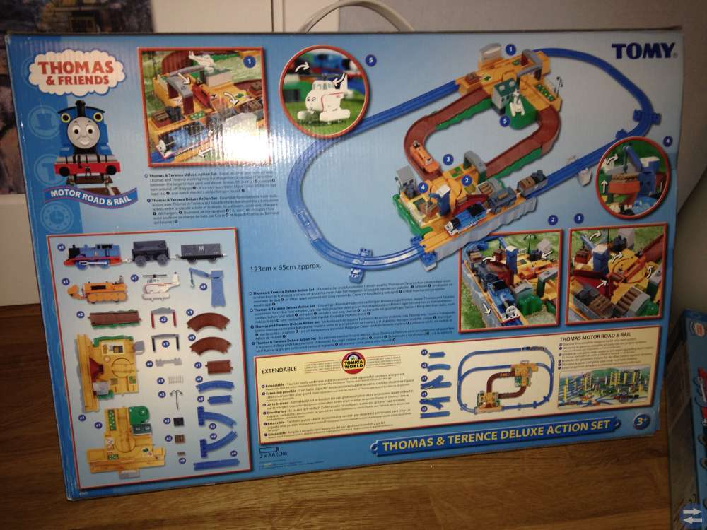 Thomas tåget, tågbana