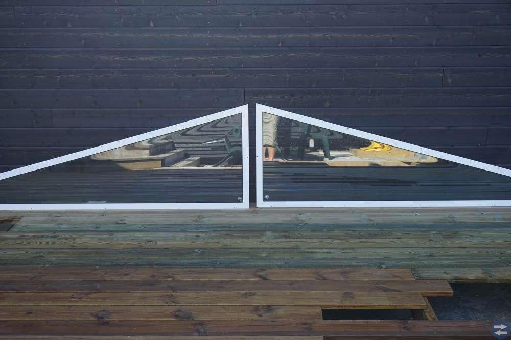 Mallskurna uterumsfönster
