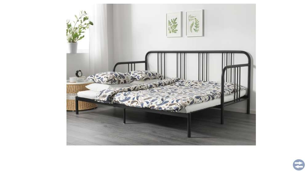 Dagbädd med 2 madrasser