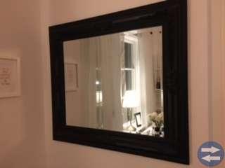 Spegel (svart)