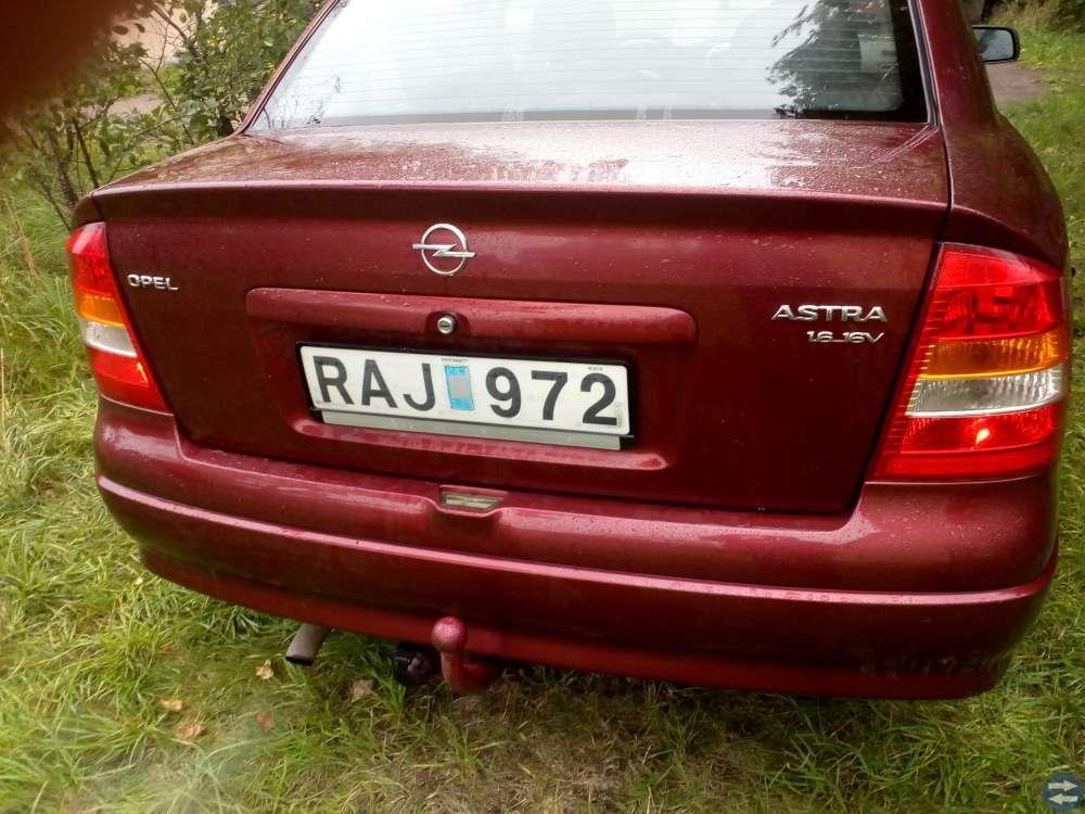 Opel astra 1.6 motor år01