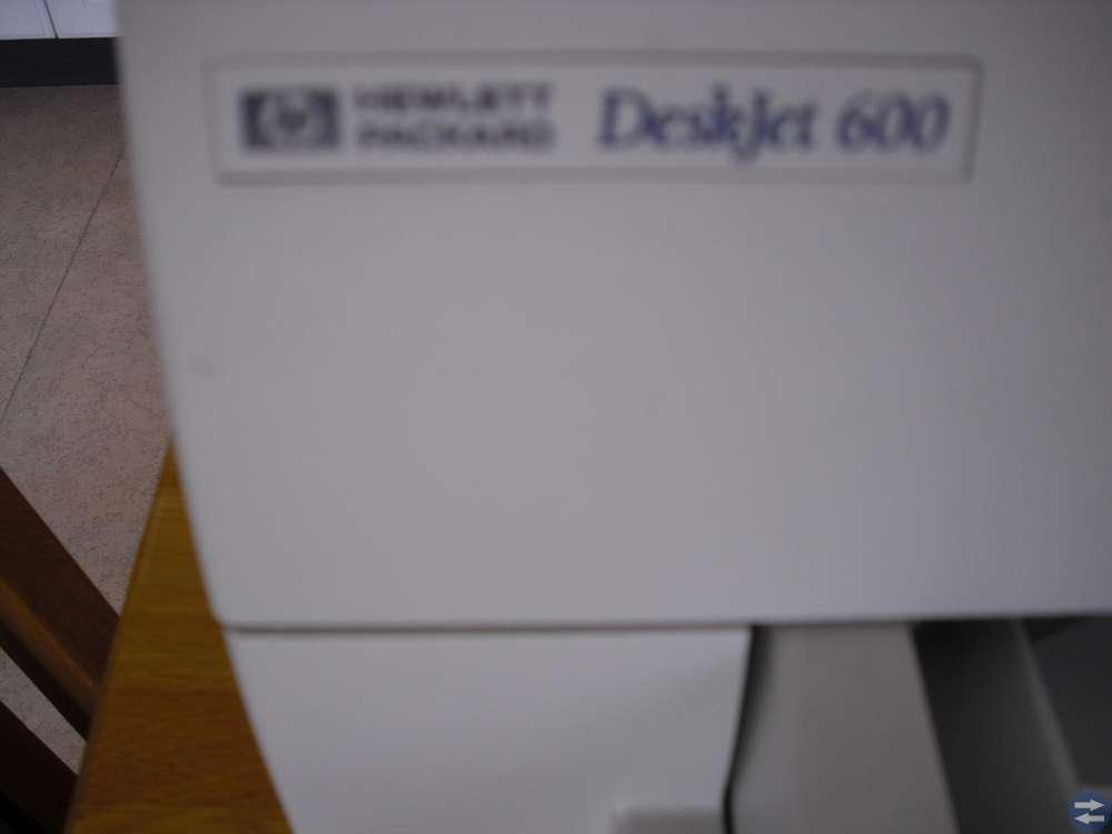 Skrivare HP 600 plus nytt tangentbord