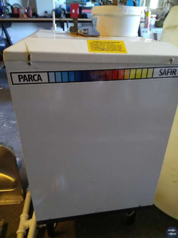Varmvattenberedare för gasol