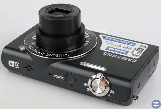 Samsung SH100 digitalkamera med WIFi  i nyskick..