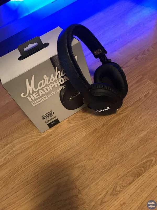 Marshall Monitor trådlösa hörlurar around-ear - Ljungbytorget.se ... 2f934b5306717