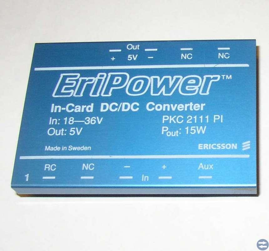 DC-DC converter Ericsson PKC2111 2 stycken