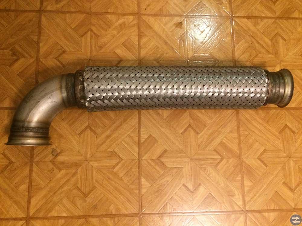 Flexrör för avgaser - rostfritt diameter 76 mm
