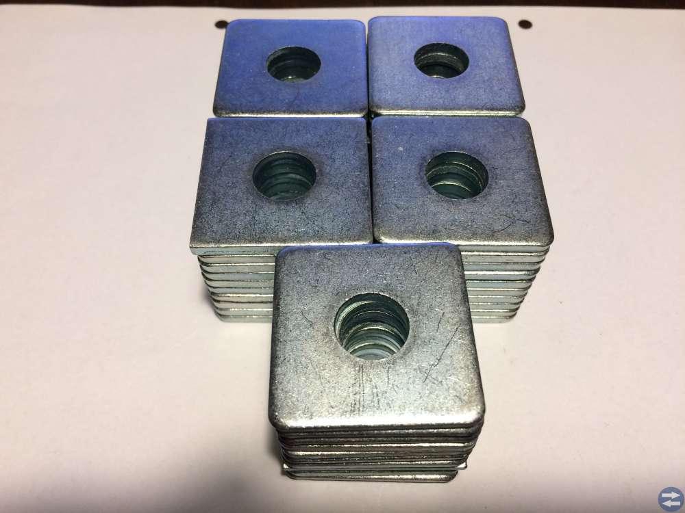 Fyrkantsbricka 13,5X40X4 50st DIN 436