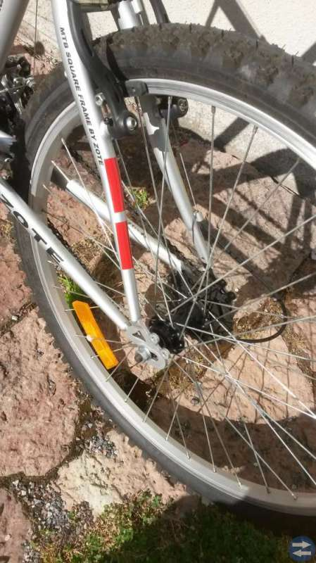BMX  Silvergrå