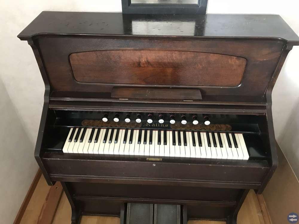 Orgel från rålins orgelfabrik i åmål