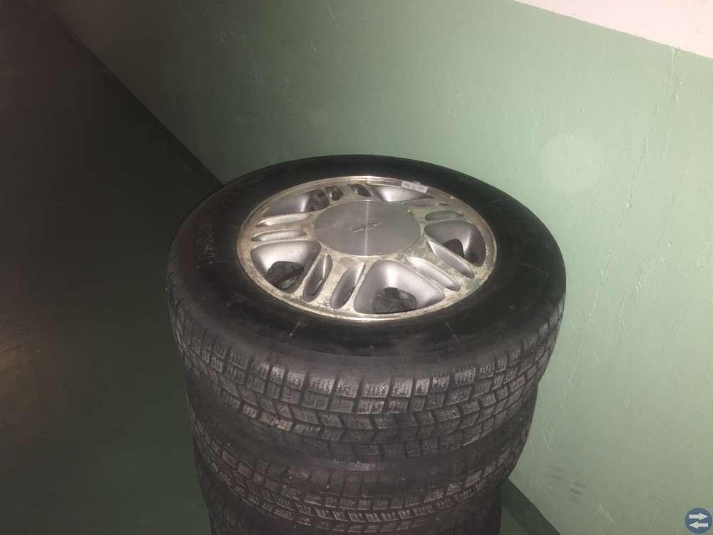 Alu m+s däck till Chevrolet transporter