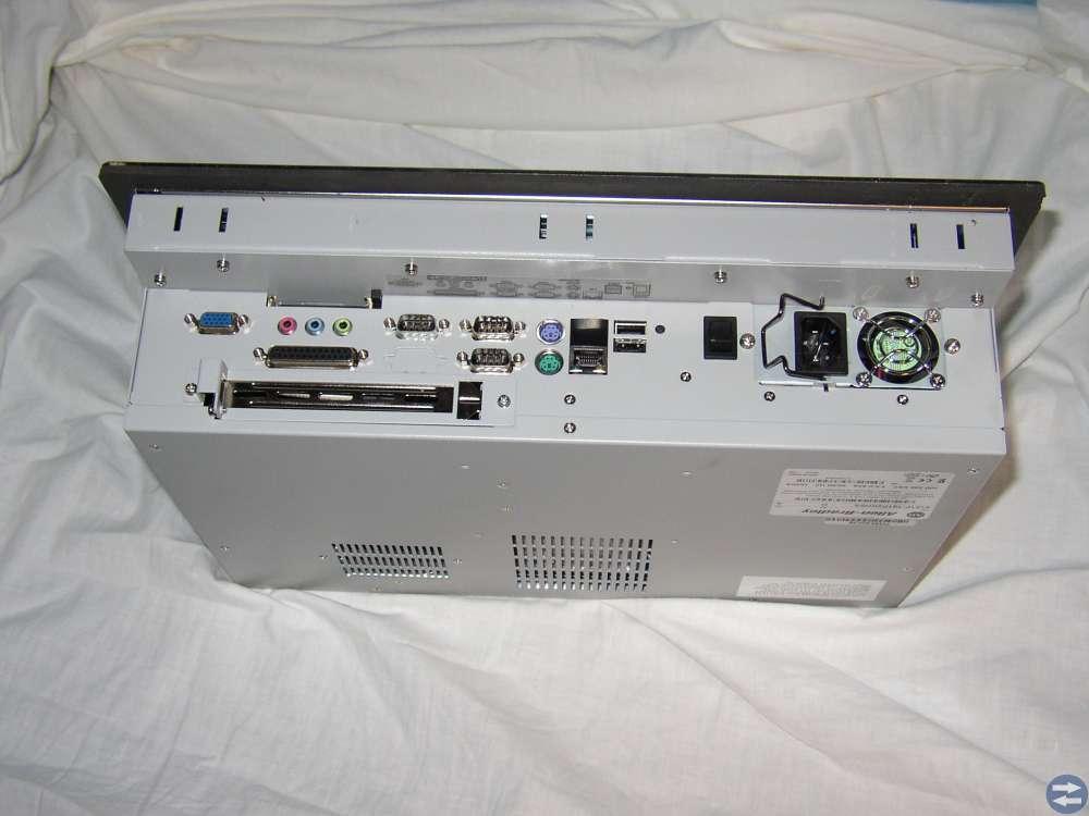 Industridator Panelmonterad med touch skärm 1500P
