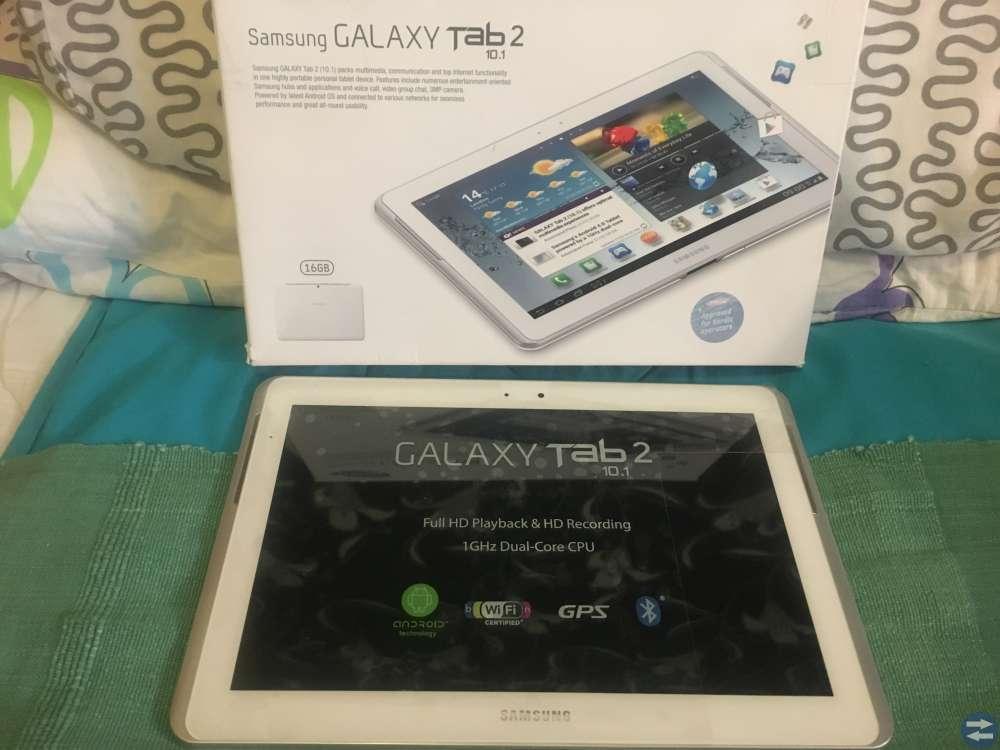 Samsung GALAXY TAB 2    10.1 ny bara öppnandet