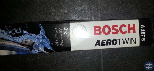Torkarblad Flatblade.   Bosch AERO TWIN
