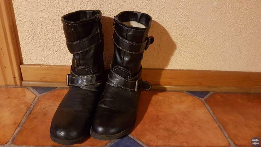 Fodrade vinter skor stl 40