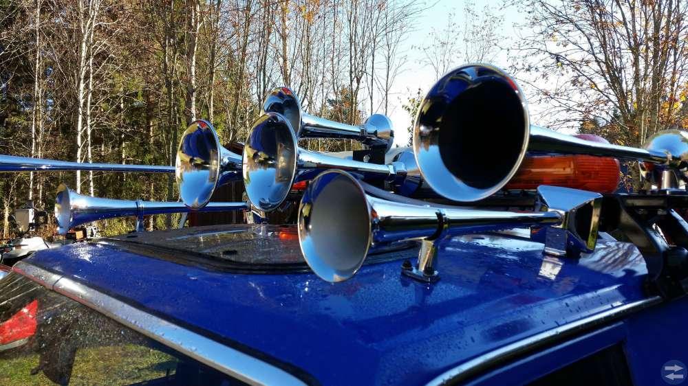 7 Ljudhorn med lufttank Tutor