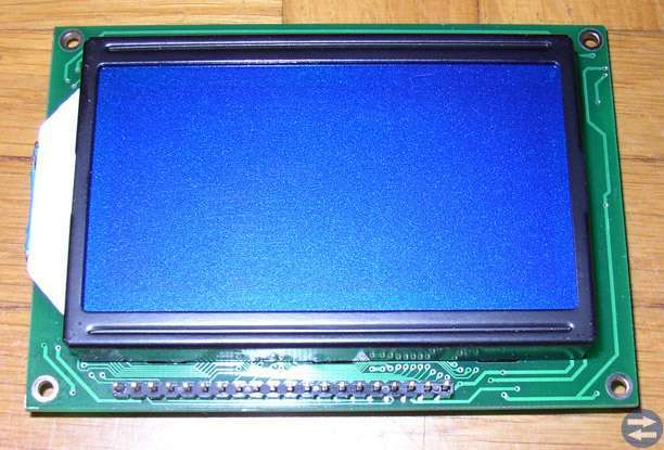 LCD display 128x64 pixels
