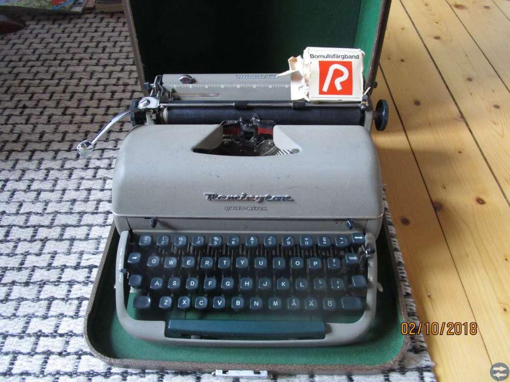 Skrivmaskin, Grammofon