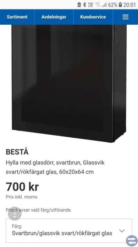 2 st Bestå Skåp