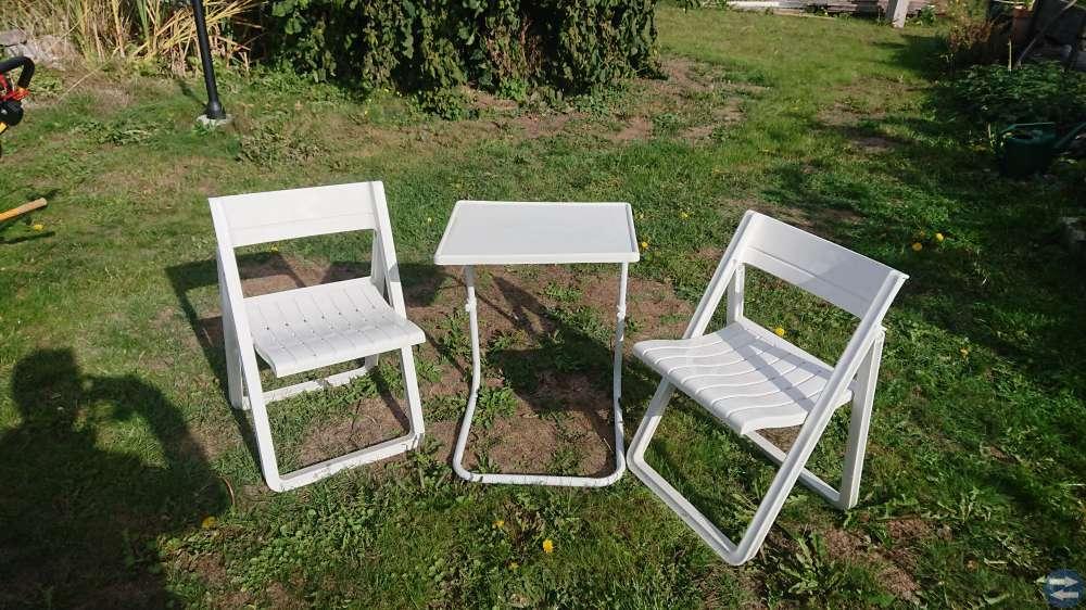 Balkongmöbler i plast