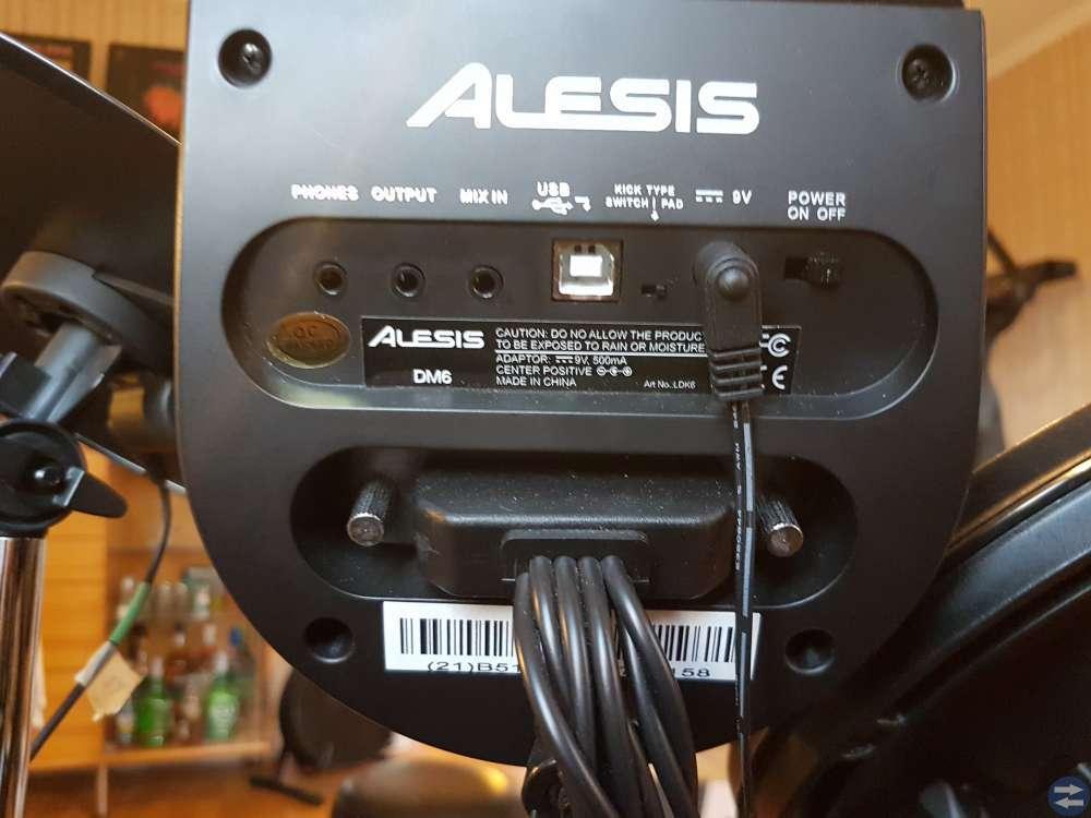 Alesis dm6 och dubbelpedal HP200PTW