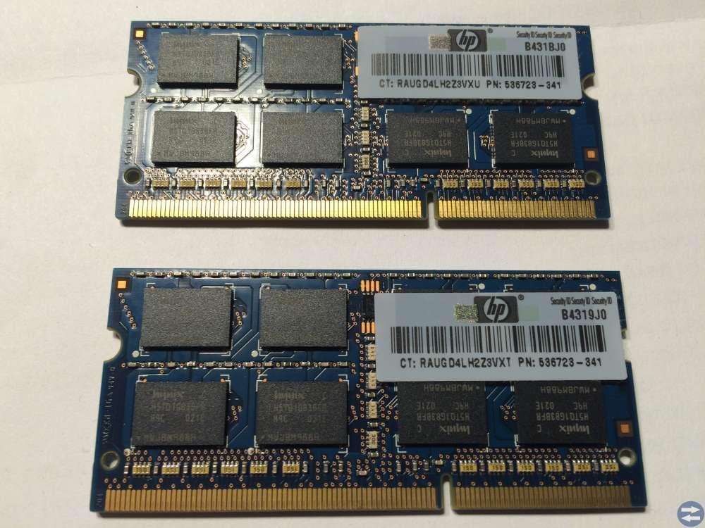 Minnen Hynix till bärbar DDR3 2st 2Gb 2Rx8 PC3-106