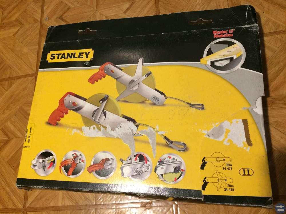 Måttband Stanley 50 meter  Nytt i kartong.