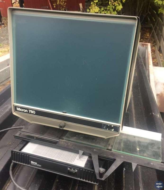 Micro 780 för microfisch