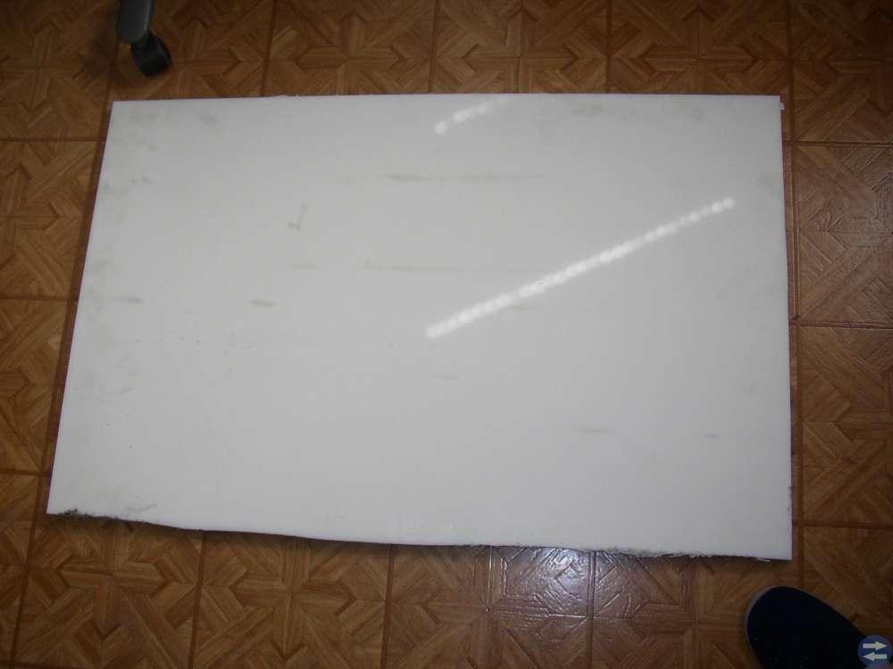 Nylonskiva 950 x 590 mm 22 mm tjock