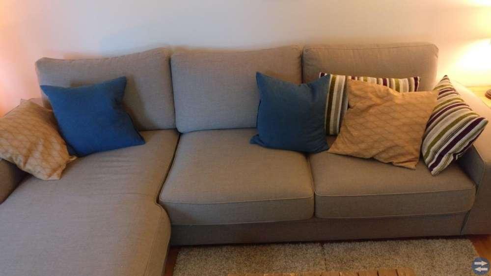 3-sits soffa med divan