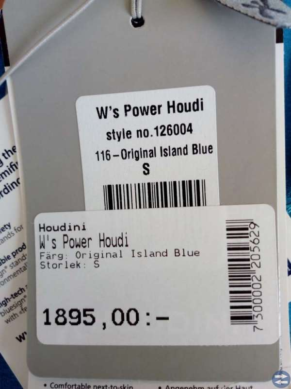 Houdini W power houdi str.s
