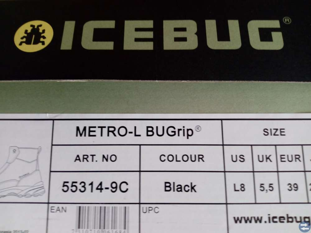 Icebug Merto-LBUGrip str.39