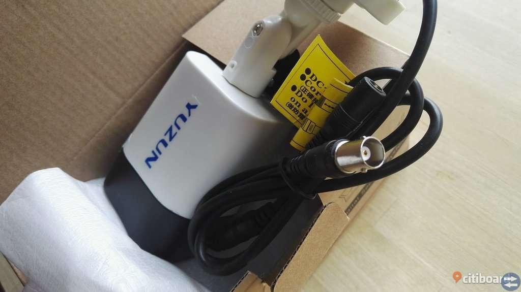 Övervakningskamera YUZUN 2MP 1080p ip66 för utomhus.