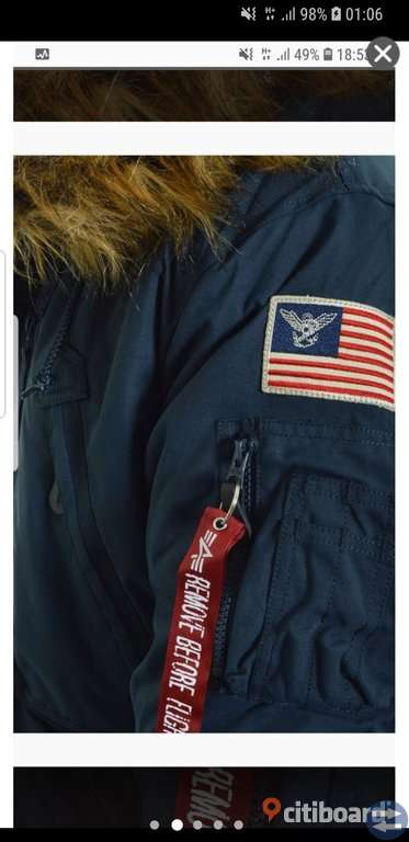 Alpha Industries vinterjacka