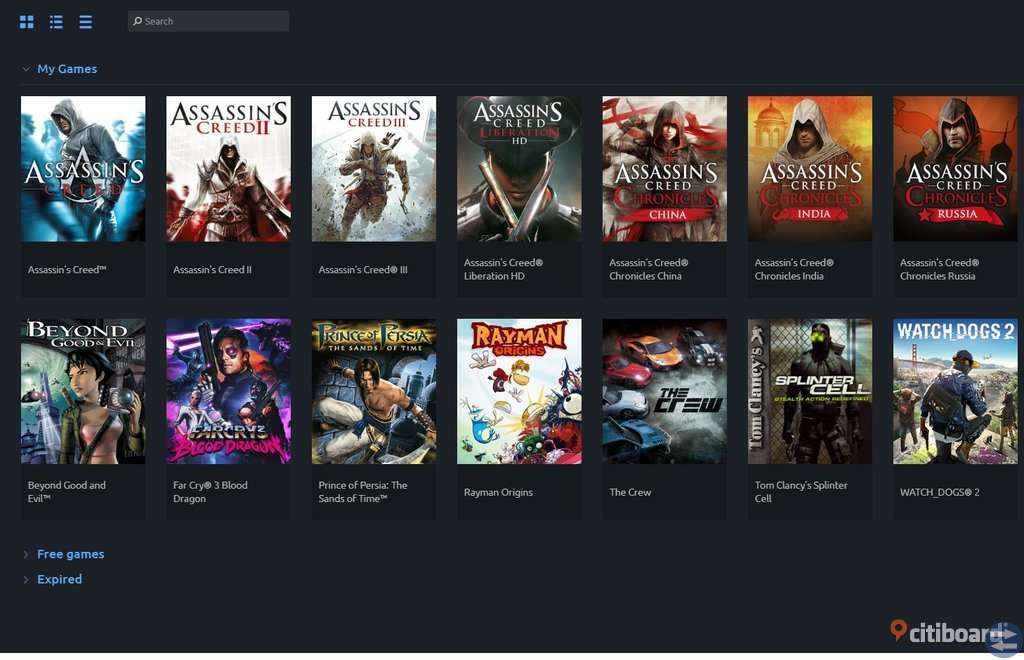 Uplay konto 2 av 2 - Assassin's creed 1, 2, 3 mm. Far Cry 3: Blood Dragon, Prince of Persia: The San