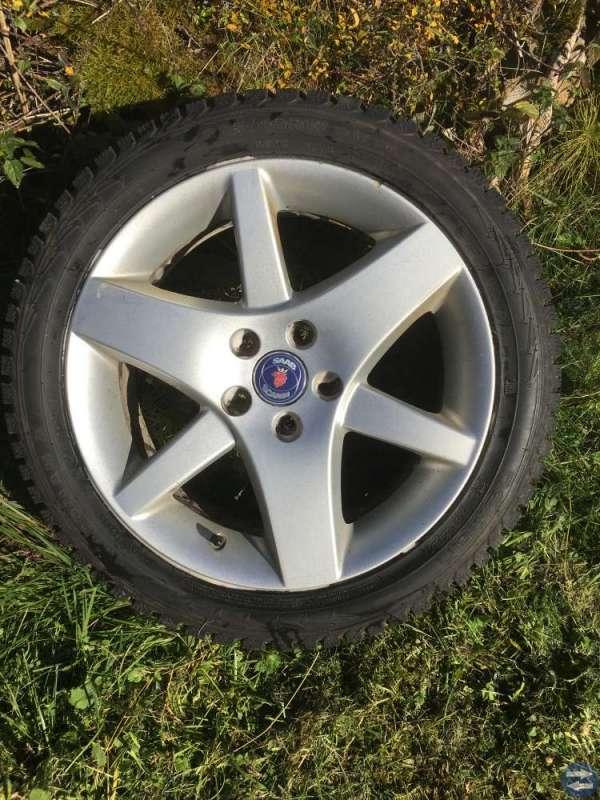 Vinterhjul till Saab och Volvo
