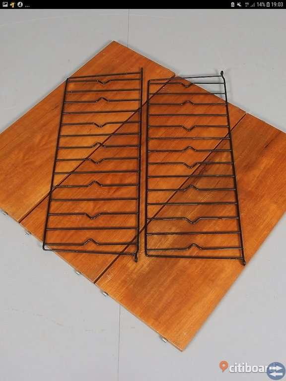 Stringhylla av något slag 50-60-talet