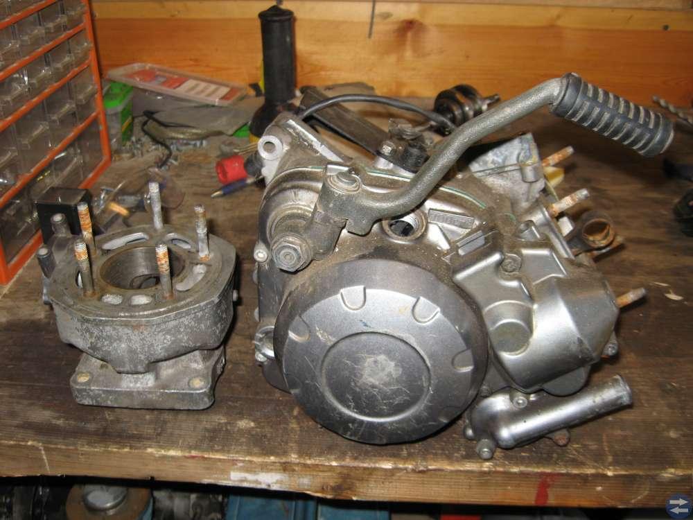 YAMAHA Dt 125cc RESERVDELSMOTOR