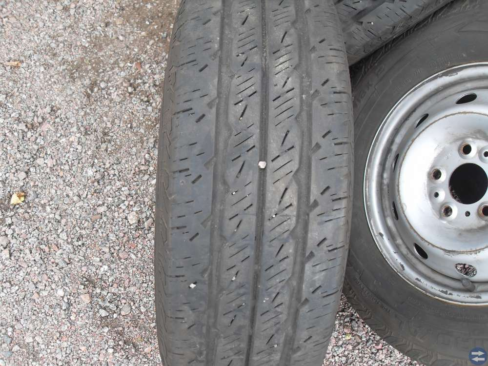 hjul med C däck