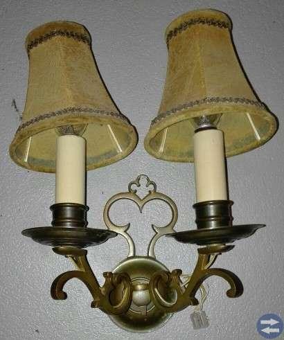 Lampetter från 50-talet 2 st.