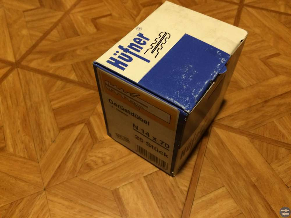 Skruvplugg Hufner N 14 x 70 4 paket